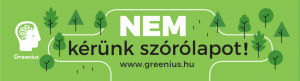 nem szórólap no reklám stop spam greenius